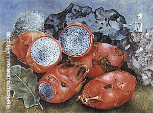 Pitahayas 1938 By Frida Kahlo - Oil Paintings & Art Reproductions - Reproduction Gallery