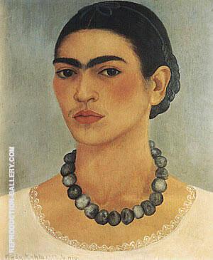 Self Portrait 1933 By Frida Kahlo