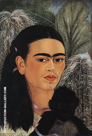 Fulang Chang and I 1937 By Frida Kahlo