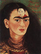 Diego and I 1949 By Frida Kahlo