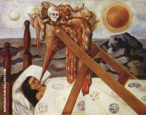 Without Hope 1945 By Frida Kahlo