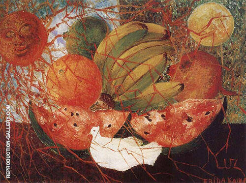 Fruit of Life 1954 By Frida Kahlo Replica Paintings on Canvas - Reproduction Gallery