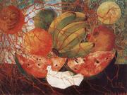 Fruit of Life 1954 By Frida Kahlo