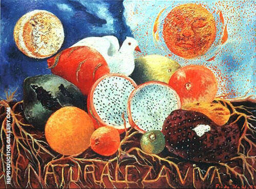 Naturaleza viva 1952 By Frida Kahlo