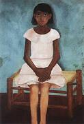 Portrait of a Girl 1929 By Frida Kahlo