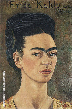 Self Portrait 1941 By Frida Kahlo