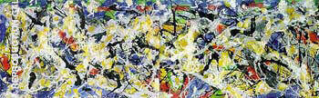 Frieze c1953-55 Painting By Jackson Pollock - Reproduction Gallery