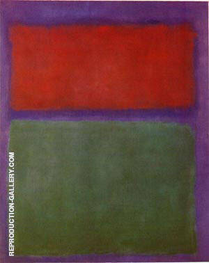 Earth and Green 1955 Painting By Mark Rothko - Reproduction Gallery