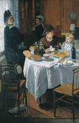 The Luncheon c1868 By Claude Monet