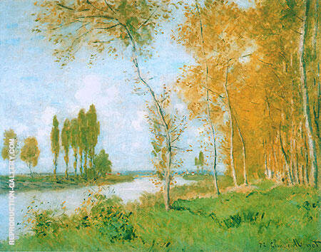 Springtime at Argenteuil 1872 By Claude Monet