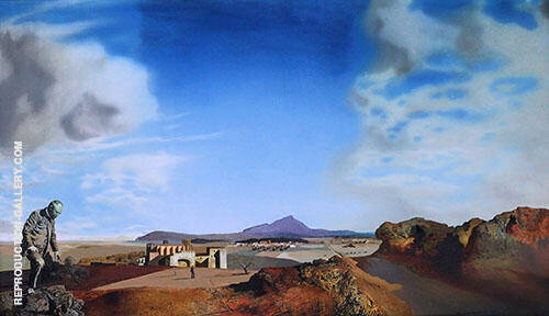 The Pharmacist of Ampurdan in Search of Absolutely Nothing 1936 By Salvador Dali