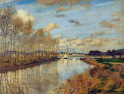 Small Arm of the Seine 1876 By Claude Monet
