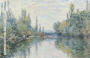 The Seine at Vetheuil 1879 By Claude Monet - Oil Paintings & Art Reproductions - Reproduction Gallery
