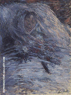 Camille on Her Deathbed 1879 Painting By Claude Monet