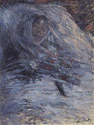 Camille on Her Deathbed 1879 By Claude Monet