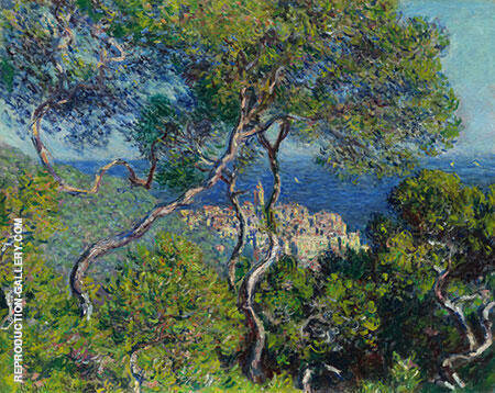 Bordighera 1884 By Claude Monet - Oil Paintings & Art Reproductions - Reproduction Gallery