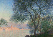 Antibes Viewed from La Salis 1888 By Claude Monet