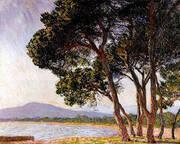 The Beach at Juan les Pins 1888 By Claude Monet