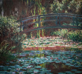 The Water Lily Pond [Japanese Bridge], 1900 By Claude Monet