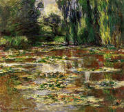 The Bridge over the Water Lily Pond 1905 By Claude Monet