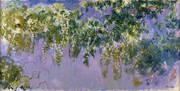 Wisteria 1919-20 By Claude Monet