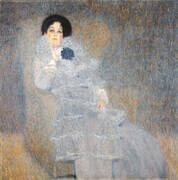 Portrait of Marie Henneberg, 1901 By Gustav Klimt