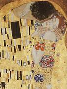 Kiss Detail 1907 By Gustav Klimt