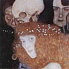 Hope I (Detail), 1903 By Gustav Klimt