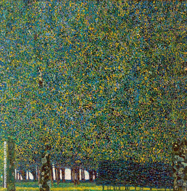The Park, 1910 Painting By Gustav Klimt - Reproduction Gallery