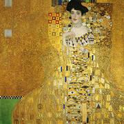 Portrait of Adele Bloch-Bauer I 1907 By Gustav Klimt