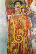 Hygieia Medicine Detail 1900 By Gustav Klimt
