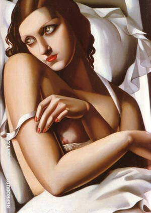 The Convalsecent 1932 Painting By Tamara de Lempicka