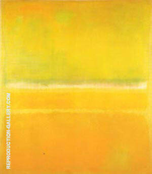 No 14 No 10 Yellow Green Painting By Mark Rothko - Reproduction Gallery