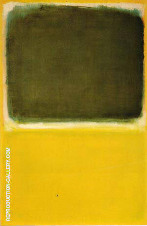 No 16 Green White Yellow Yellow By Mark Rothko Replica Paintings on Canvas - Reproduction Gallery