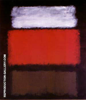No 1 White Red 1962 Painting By Mark Rothko - Reproduction Gallery