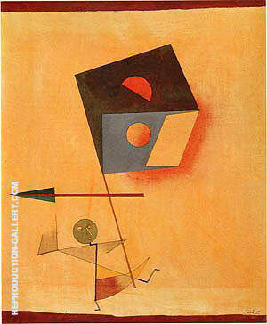 Conqueror 1930 Painting By Paul Klee - Reproduction Gallery