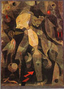A Young Lady's Adventure 1921 By Paul Klee
