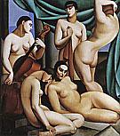 Rhythm 1924 By Tamara de Lempicka