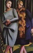 Irene and her Sister 1925 By Tamara de Lempicka