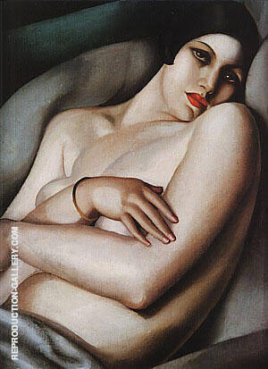 Reproduction of The Dream, 1927 by Tamara de Lempicka | Oil Painting Replica On CanvasReproduction Gallery
