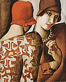 Sharing Secrets 1928 By Tamara de Lempicka
