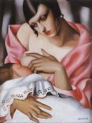 Maternite 1928 By Tamara de Lempicka