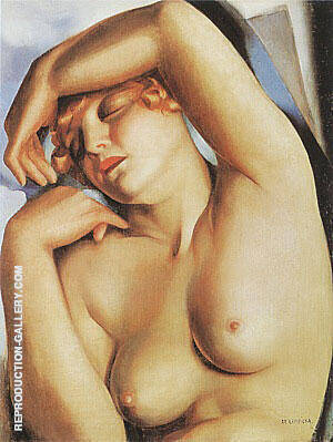 Sleeping Girl 1930 By Tamara de Lempicka