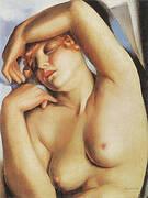 Sleeping Girl 1930 By Tamara de Lempicka