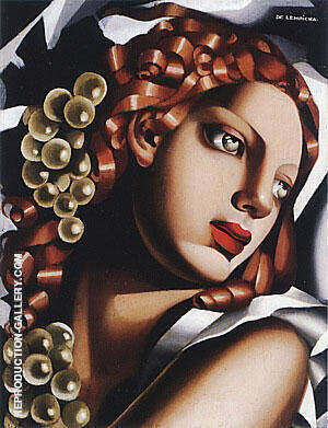 The Brilliance 1932 Painting By Tamara de Lempicka - Reproduction Gallery