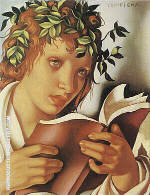 Graziella 1937 Painting By Tamara de Lempicka - Reproduction Gallery