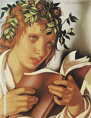 Graziella 1937 By Tamara de Lempicka