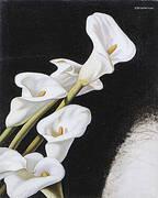 Arums Study c1938 By Tamara de Lempicka
