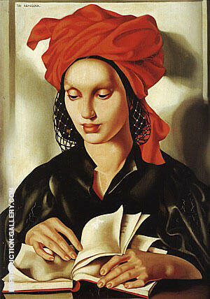 Bibliographie 1940 Painting By Tamara de Lempicka - Reproduction Gallery