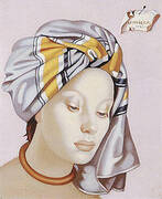The Gray Turban II 1945 By Tamara de Lempicka